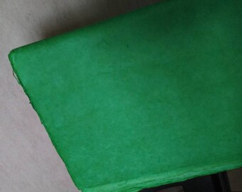 sheet of Nepalese paper 50 / 70cm Green