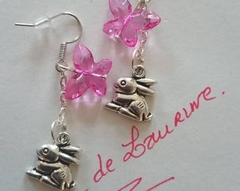 A pair of earrings for children