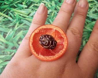 buttons ring ethnic