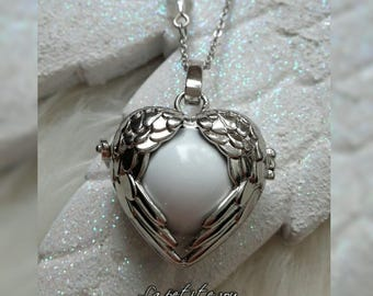 Pregnancy necklace flew chime musical theme * Angel *.