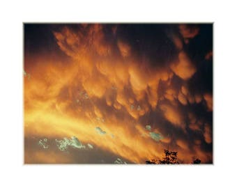 Mammatus At Sunset ~ Print