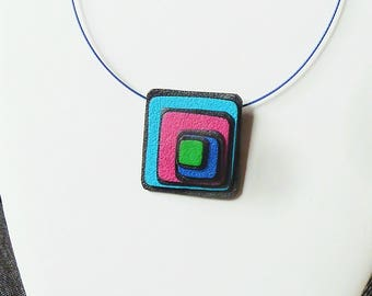 Necklace in beautiful colors!