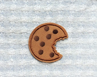 Cookie Patch - Iron on Patch, Sew On Patch, Embroidered Patch