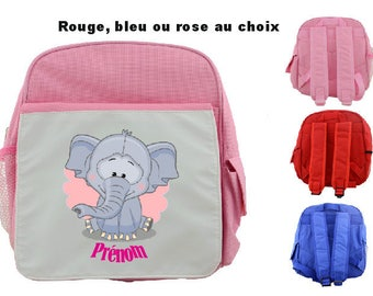 """BACKPACK CHILD """"BROCHURE"""" PERSONALIZED WITH CHILD'S NAME"""