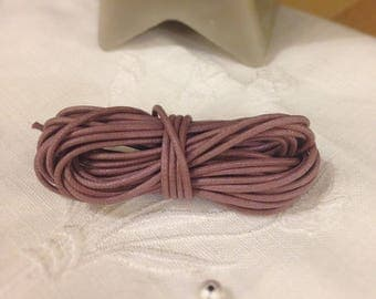Waxed cotton cord, sold by the yard - Wisteria