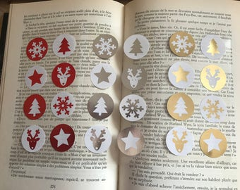 3 - Pack Christmas stickers
