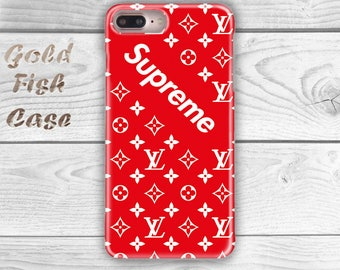 Supreme Iphone 7 Case Louis Vuitton iPhone 6S Case iPhone 5S Case iPhone 7 Case iPhone 6S Plus iPhone 7 Case iPhone 7 Plus Red Case s067