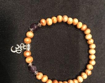 Yoga Om Ankle Bracelet