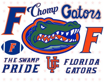 Florida Gators svg, Florida Gators Clipart, Florida Gators Cut File, Florida svg, Florida clipart, Svg file eps dxf pdf png