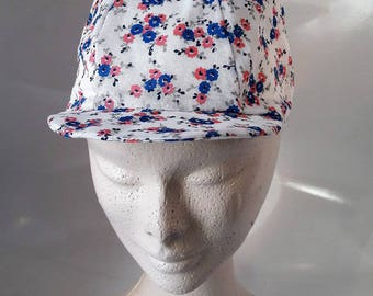 Blue and pink girl Hat