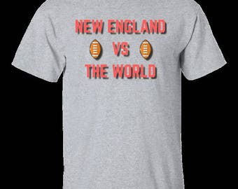 New England VS The World-G200 Gildan Ultra Cotton T-Shirt