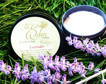 The Eden Collection - Lavender Body Moisturizer 4oz Jar
