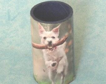 Vase, pencil holder in a cardboard roll