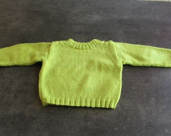 sweater with elbow Green 0-3 months