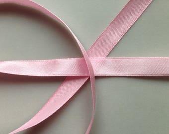Pink set 22 m satin ribbon 10mm 1 spool / * 2.