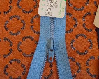 Zipper metal Z11, 20CM, neck 2839