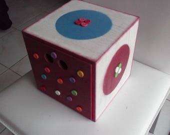 Box cube all decoration buttons