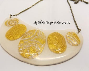 Large Gold Plated Julie Collection
