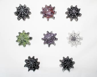Spiderweb Resin Magnets