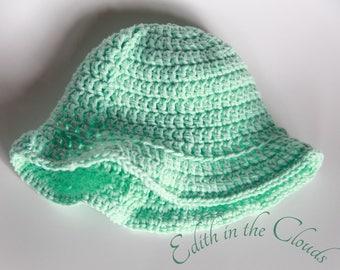 Cool Mint Sun Hat