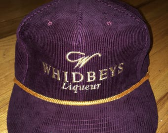 Corduroy whidbeys liqueur rope snapback