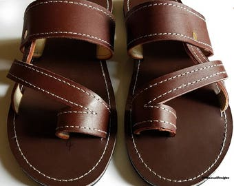 African Sandals Etsy