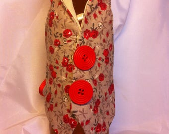 Bottle bottle warmer vest... Gift idea for holidays.., enhance your table