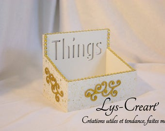 Box empty pocket, original and useful - by Creart Lily '