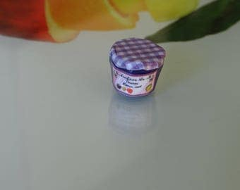 magnetic green lemon plum jam made by myself with polymer clay