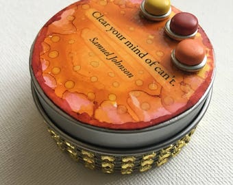 Whimsy Tin~ Clear your mind of Can't