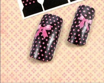 Pack of 12 stickers for nails