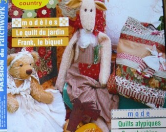 Journal Passion patchwork country atmosphere N ° 5