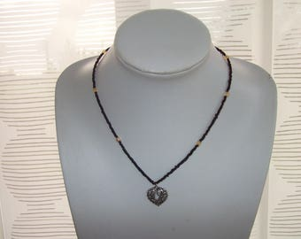Crystal seed beads and Crystal Necklace