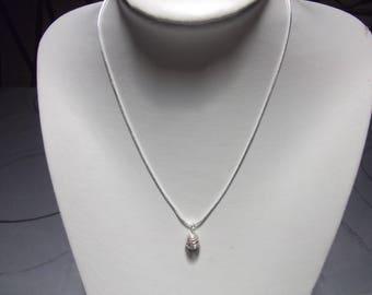 Necklace Silver 925 spiral
