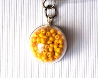 NECKLACE AND ITS HAND BLOWN GLASS PENDANT 20MM