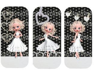 3 bookmarks digital Marilyn (send email)