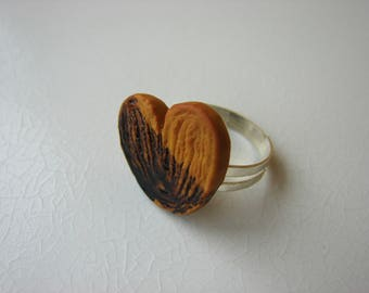 Ring: Palm dipped in chocolate