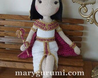 Crochet Amigurumi, Egyptian doll