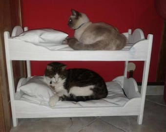 double bed for cat or doll