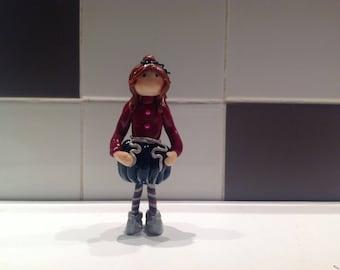 Doll Girl Fimo