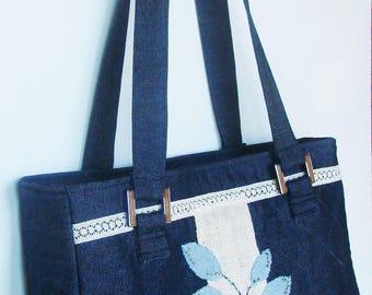 Tutoriel du Sac Ailean - grand sac en jean
