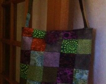 Patchwork shoulder bag handbag