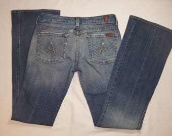 Designer Jeans 7 for All Man Kind Pre-Owned
