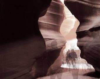 Long Exposure in Antelope Canyon