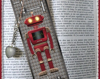 "Laminated bookmarks ""robot V35"""