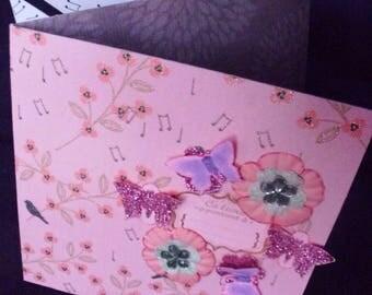 """Birds & butterflies"" leaflet"
