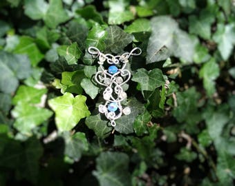 "Elven pendant ""star of the water"""