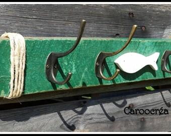 Coat rack / wood coat rack Driftwood