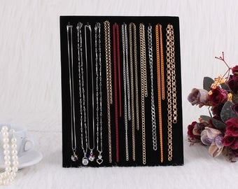 1 jewelry display stand for 5 necklaces chain pendant 255 x 205 mm