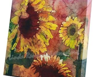 Canvas Print - Sunflowers